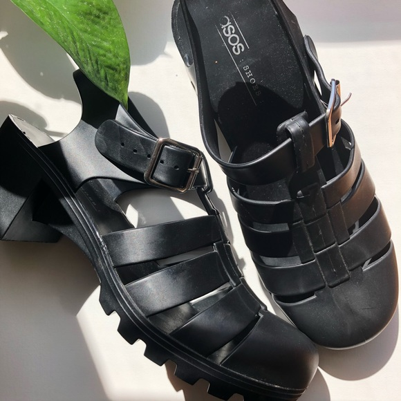 ASOS Shoes - ASOS Jilly Caged Heeled Sandals